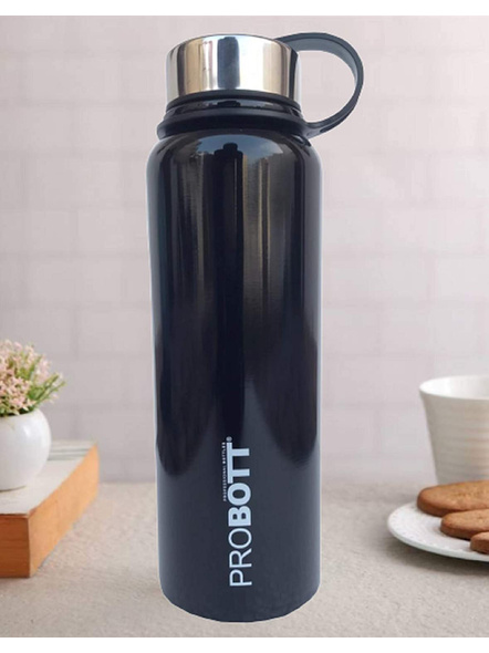 Probott Thermosteel Thermos Flask Water Bottle 1500 ml (PB1500-02) (Colour May Vary)-BLACK-3