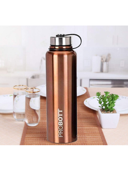 Probott Thermosteel Thermos Flask Water Bottle 1500 ml (PB1500-02) (Colour May Vary)-GOLD-3