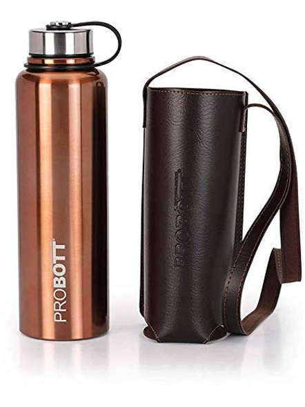 Probott Thermosteel Thermos Flask Water Bottle 1500 ml (PB1500-02) (Colour May Vary)-GOLD-4