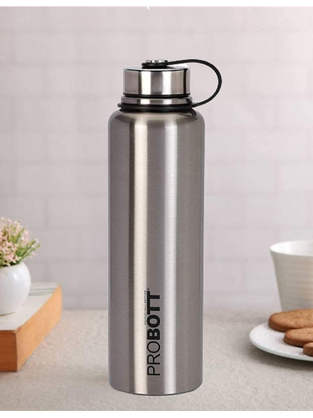 Probott Thermosteel Thermos Flask Water Bottle 1500 ml (PB1500-02) (Colour May Vary)-SILVER-3