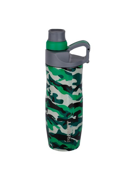 PROBOTT Stainless steel double wall vacuum flask PB 400-02 400 ml Bottle (Colour May Vary)-GREEN-3