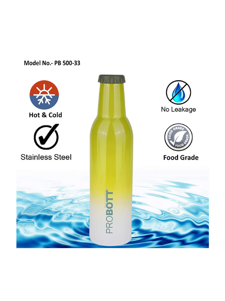 PROBOTT COLD DRINK PB 500-33 500 ml Bottle (Colour May Vary)-GREEN-4