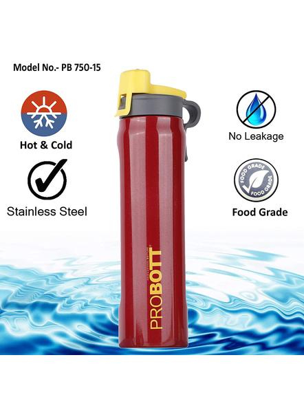 PROBOTT PB750-15 750ML SIPPERS-RED-5