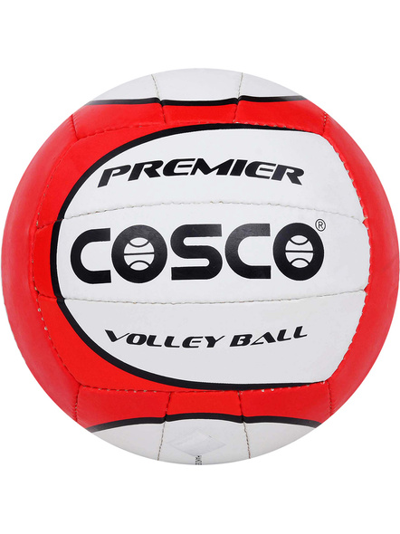 COSCO PREMIER. VOLLEY BALL-RED & WHITE-4-3