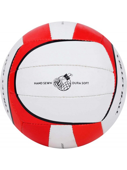 COSCO PREMIER. VOLLEY BALL-RED & WHITE-4-5