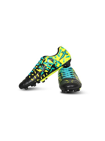 VECTOR X ACURA FOOTBALL STUD-BLACK/F. GREEN-4-3