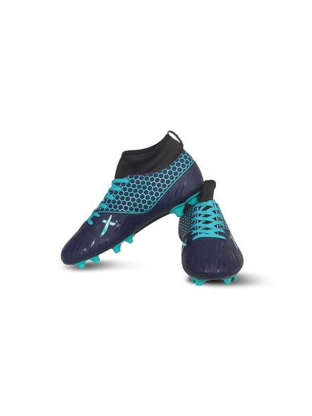 VECTOR X CHAMPION FOOTBALL STUD-NAVY/SEA GREEN-10-3