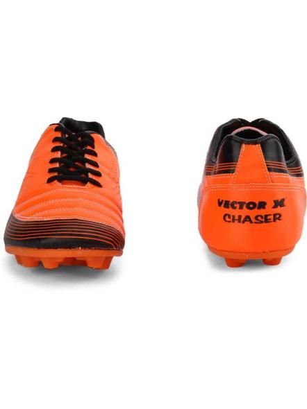 VECTOR X CHASER FOOTBALL STUD-ORANGE/BLACK-1-4