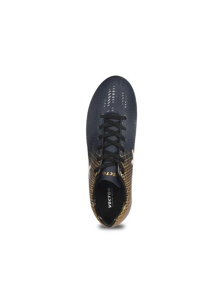 VECTOR X OZONE FOOTBALL STUD-NAVY/GOLD-4-4