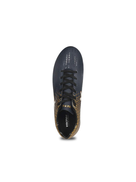 VECTOR X OZONE FOOTBALL STUD-NAVY/GOLD-6-4