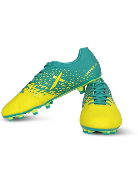 VECTOR X TRIUMPH FOOTBALL STUD-F.GREEN/SEA GREEN-5-4
