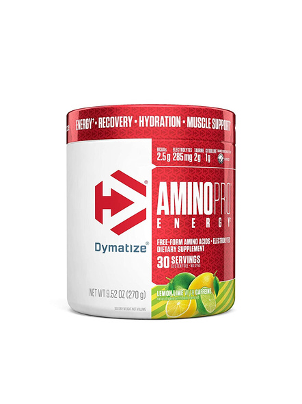 DYMATIZE AMINO PRO 270 G AMINO ACIDS-LEMON LIME-270 g-3