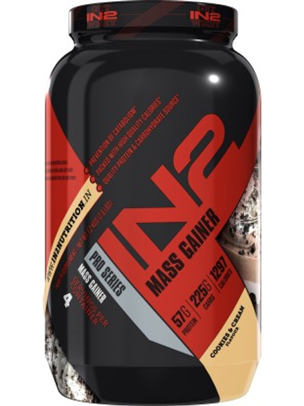 IN2 MASS 1.2 Kg MASS GAINER-COOKIE AND CREAM-1.2 Kg-3