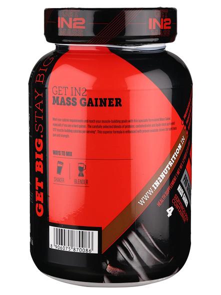 IN2 MASS 1.2 Kg MASS GAINER-RICH CHOCOLATE-1.2 Kg-5