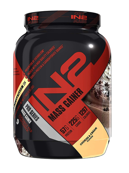 IN2 MASS 2.7 Kg MASS GAINER-COOKIE AND CREAM-2.7 Kg-3