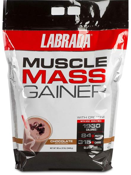 LABRADA MASS GAINER 12 LBS MASS GAINER-CHOCOLATE-12 Lbs-3