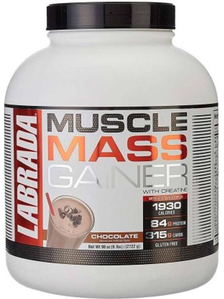 LABRADA MASS GAINER 6 LBS MASS GAINER-CHOCOLATE-6 Lbs-3