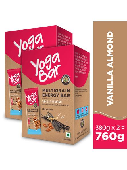 YOGA BAR MULTIGRAIN BAR 38 g MEAL REPLACEMENT-VANILLA-380 g-3
