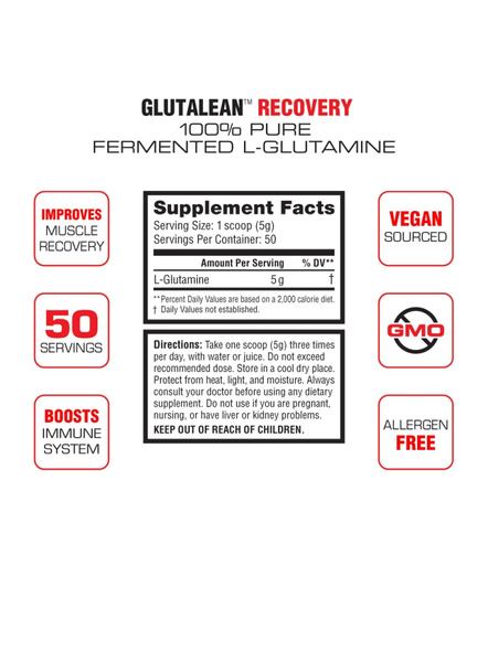 LABRADA L-GLUTAMINE 250 gMS MUSCLE RECOVERY-250 g-5