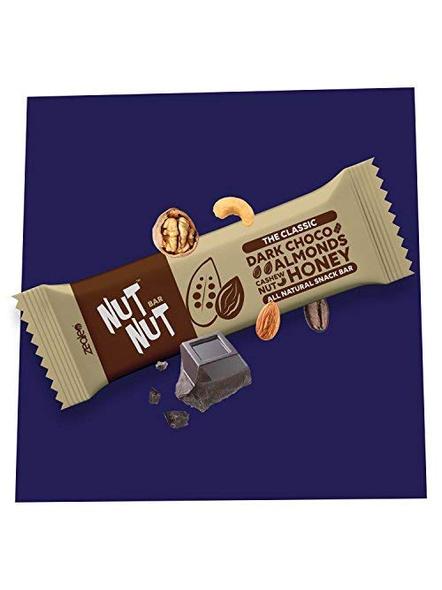 NUTNUT ALL NATURAL SNACK BAR MEAL-ALMOND DARK CHOCO-300 g-3