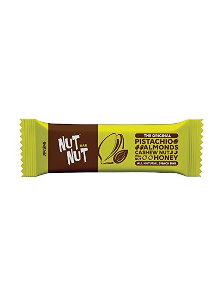 NUTNUT ALL NATURAL SNACK BAR MEAL-PISTACHIO ALMOND-300 g-3