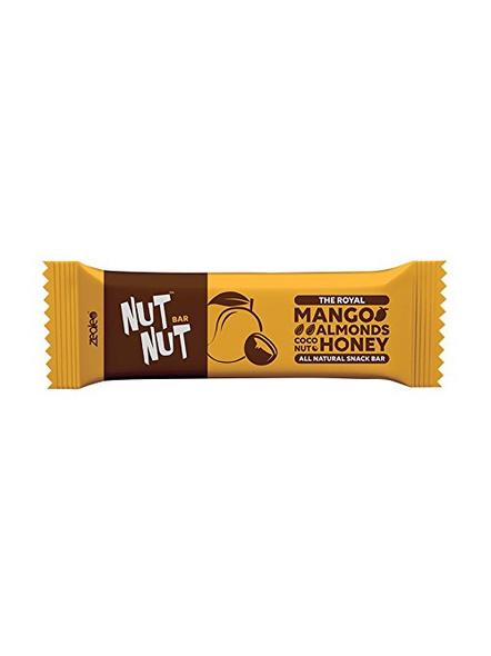 NUTNUT ALL NATURAL SNACK BAR MEAL-MANGO ALMOND-300 g-3