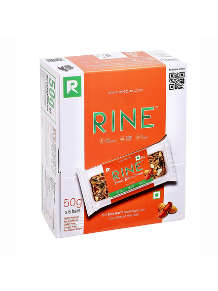 RINE Nutrition Bars-PEANUT BUTTER CRUNCH-300 g-4