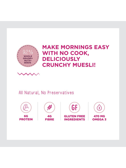 Yogabar Wholegrain Breakfast Muesli-NUTS AND SEEDS-700 g-4