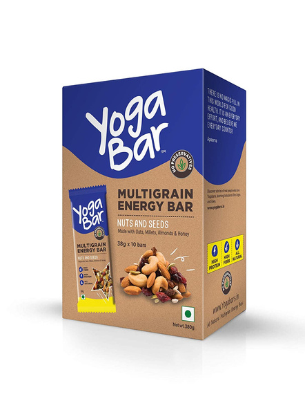 YOGA BAR MULTIGRAIN BAR 38 g MEAL REPLACEMENT-NUTS AND SEEDS-380 g-1