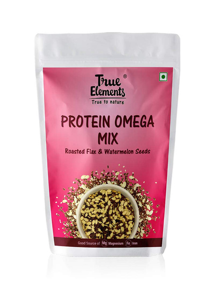 TRUE ELEMENTS PROTEIN OMEGA MIX- 125 GM SEEDS-125 g-3