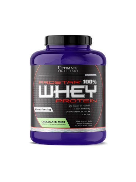 ULTIMATE PROSTAR WHEY PROTEIN 2.39 Kg WHEY PROTIEN BLEND-CHOCOLATE MINT-2.39 Kg-3
