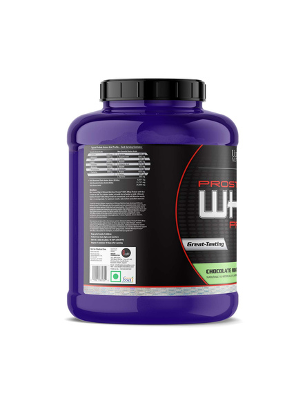 ULTIMATE PROSTAR WHEY PROTEIN 2.39 Kg WHEY PROTIEN BLEND-CHOCOLATE MINT-2.39 Kg-4