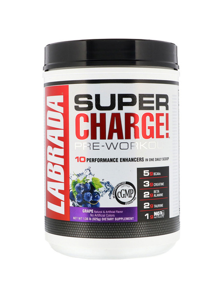 LABRADA SUPER CHARGE (625 G ) MUSCLE BOOSTER-GRAPE-625 g-2