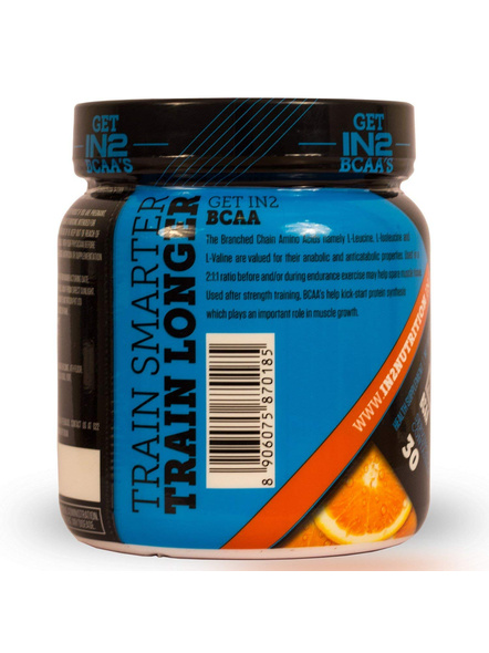 IN2 BCAA-300 g MUSCLE RECOVERY-ORANGE-300 g-30-4