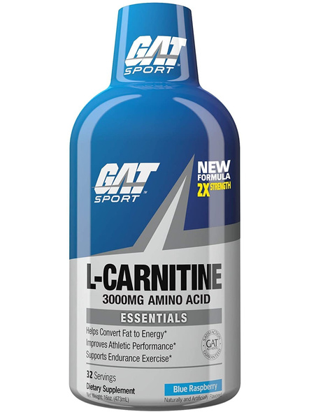 GAT ESSENTIALS L-CARNITINE 3000 PRE WORKOUT-BLUE RASPBERRY-32-1