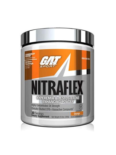 GAT GAT NITRAFLEX 30 SERVINGS PRE WORKOUT-ORANGE-30-2