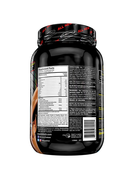 MUSCLETECH NITROTECH RIPRED 2 LBS WHEY PROTIEN ISOLATE-CHOCOLATE FUDGE BROWINE-2 Lbs-5