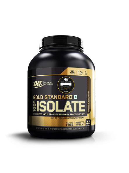 OPTIMUM GOLD STANDARD 100% ISOLATE 3lb WHEY PROTIEN ISOLATE-CHOCOLATE BLISS-3 Lbs-44-3