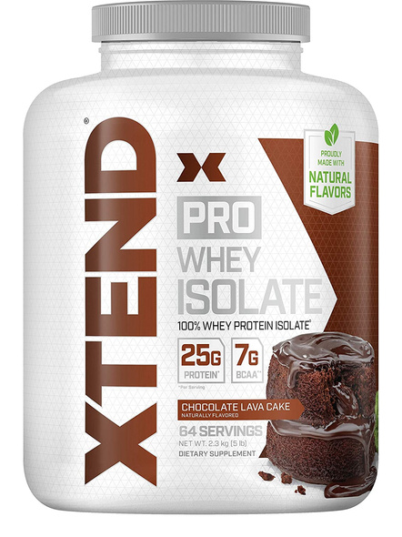 SCIVATION XTEND PRO WHEY ISOLATE 5 LBS WHEY PROTIEN ISOLATE-CHOCOLATE LAVA CAKE-5 Lbs-69-2