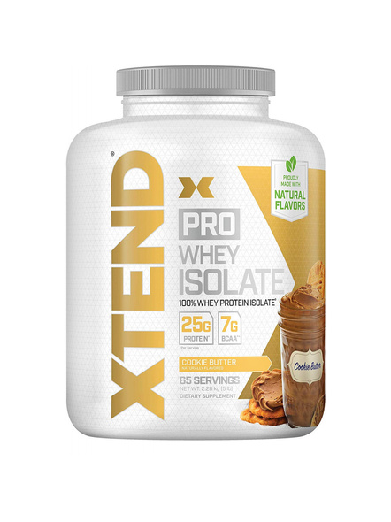 SCIVATION XTEND PRO WHEY ISOLATE 5 LBS WHEY PROTIEN ISOLATE-COOKIE BUTTER-5 Lbs-69-1