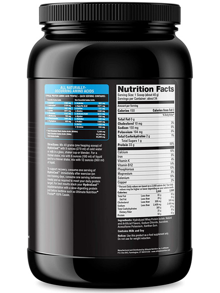 ULTIMATE HYDROCOOL 3 LBS WHEY PROTIEN ISOLATE-CHOCOLATE-3 Lbs-34-4