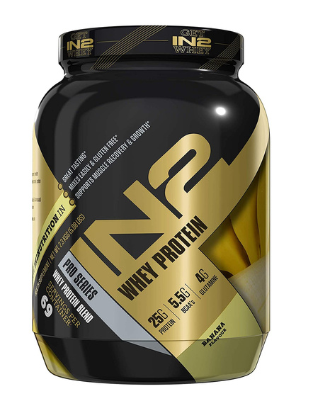 IN2 WHEY PROTEIN 2.3 Kg WHEY PROTIEN BLEND-BANANA-2.3 Kg-69-3