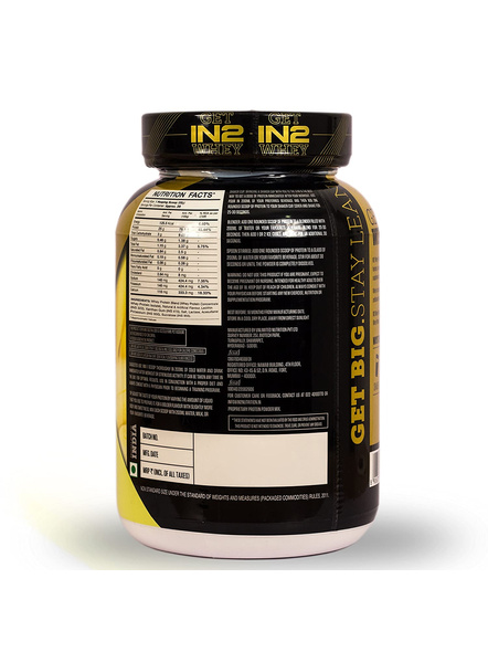 IN2 WHEY PROTEIN 908GMS WHEY PROTIEN BLEND-BANANA-908 g-28-4
