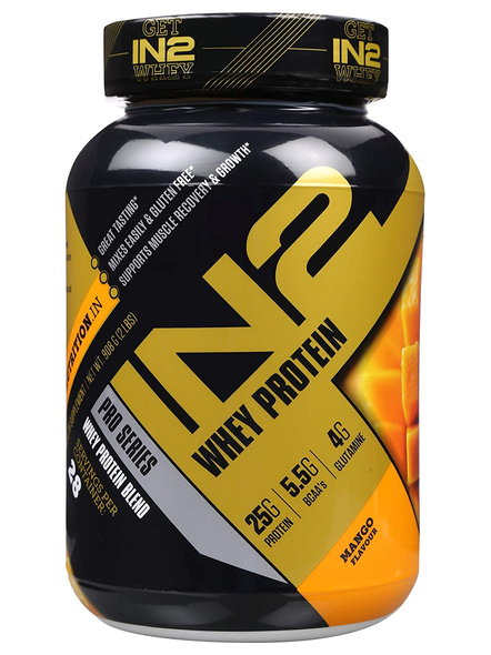 IN2 WHEY PROTEIN 908GMS WHEY PROTIEN BLEND-MANGO-908 g-28-3