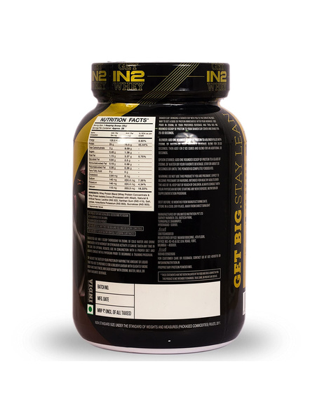 IN2 WHEY PROTEIN 908GMS WHEY PROTIEN BLEND-RICH CHOCOLATE-908 g-28-4