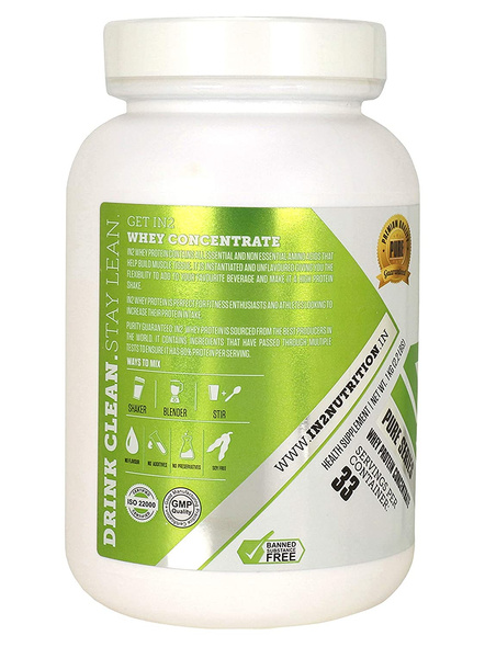 IN2 WHEY PROTEIN CONTRAT GRAS 1KG WHEY PROTIEN BLEND-UNFLAVORED-1 Kg-33-4