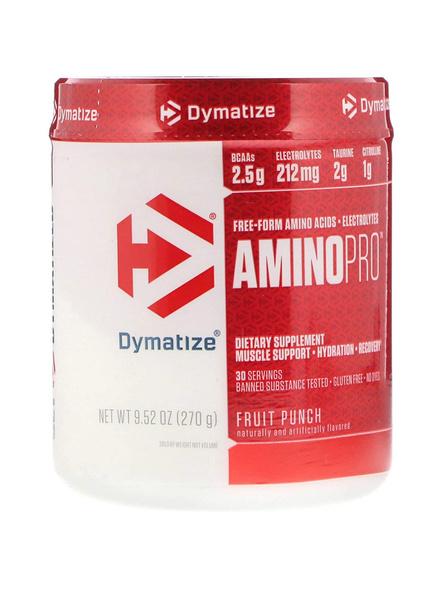 DYMATIZE AMINO PRO 270 G AMINO ACIDS-FRUIT PUNCH-270 g-30-1