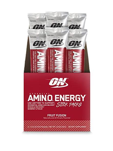 OPTIMUM AMINO ENERGY STICK PACKS AMINO ACIDS-FRUIT FUSION-3