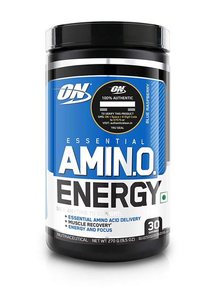 OPTIMUM AMINO ENERGY 270 GM AMINO ACIDS-BLUE RASPBERRY-270 g-3