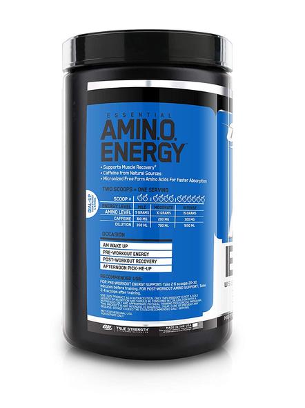 OPTIMUM AMINO ENERGY 270 GM AMINO ACIDS-BLUE RASPBERRY-270 g-5